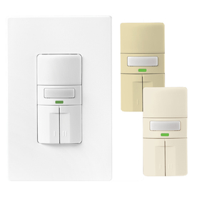 shop cooper wiring devices 8 amp white combination occupancy decorator light switch at. Black Bedroom Furniture Sets. Home Design Ideas