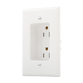 Display product reviews for 15-Amp 125-Volt White Recessed Indoor Decorator Wall T&er  sc 1 st  Loweu0027s & Shop Electrical Outlets at Lowes.com azcodes.com