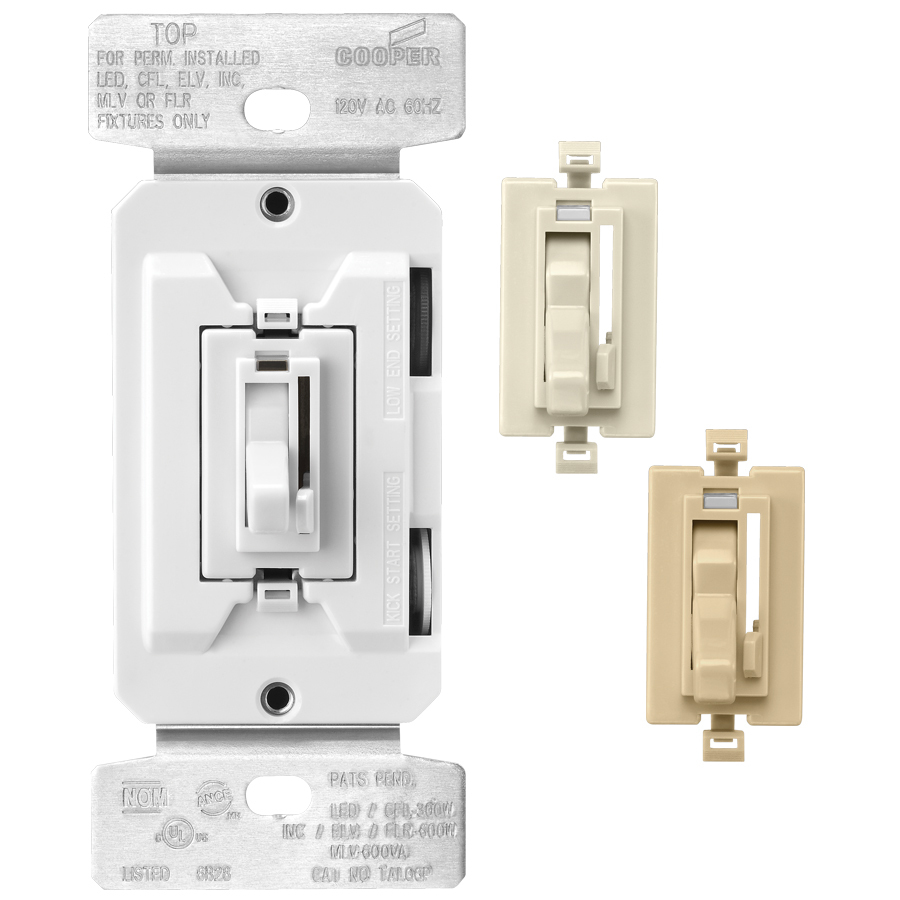 shop cooper wiring devices trace 8 amp white ivory light. Black Bedroom Furniture Sets. Home Design Ideas