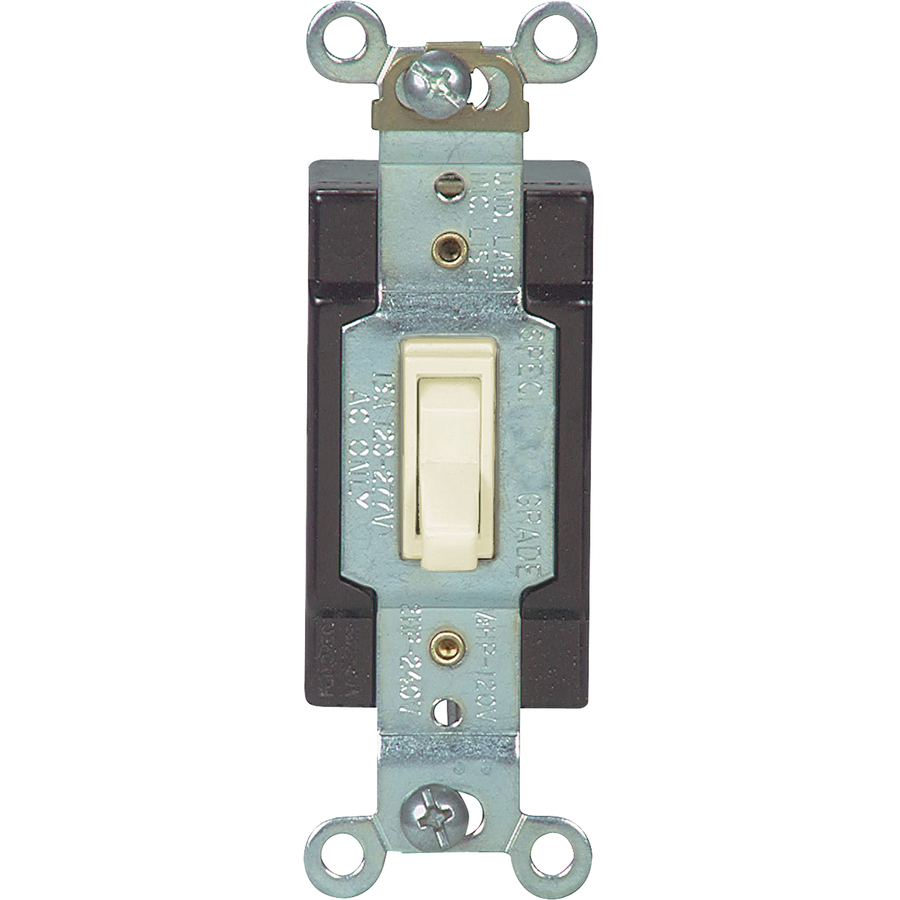 Shop Cooper Wiring Devices 15amp White 3way Light Switch At Lowes