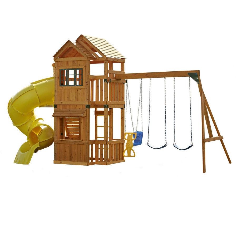 Shop Swing-N-Slide Lakewood Ready-to-Assemble Residential ...