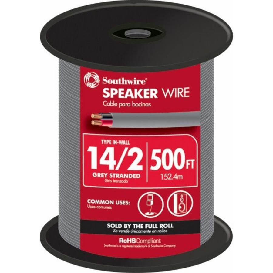 Speaker Cable Lowes : shop 500 ft 14 2 in wall speaker wire at ~ Russianpoet.info Haus und Dekorationen