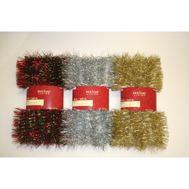 Holiday Living 6-in x 12-ft Tinsel Artificial Christmas Garland RS-LP