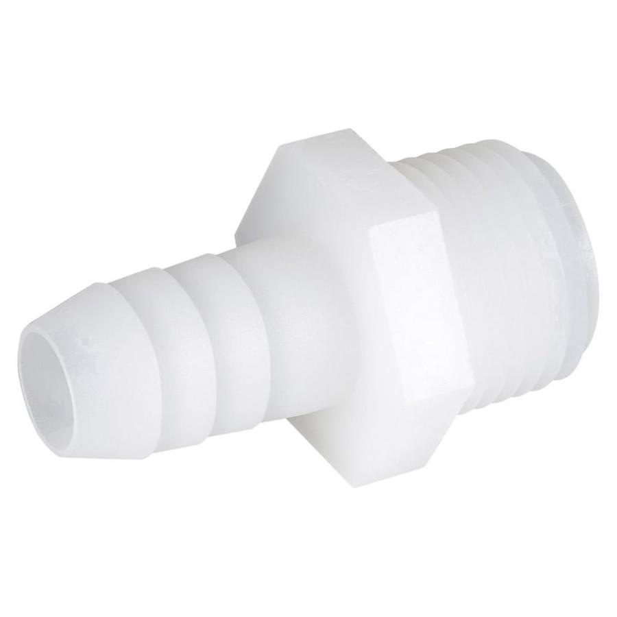 B&K 1/2-In Barbed Barb X Mip Adapter Fitting Nhb-387B