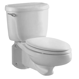 Display Product Reviews For Glenwall White Elongated Custom Height 2 Piece Toilet 12 In