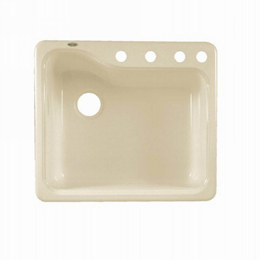 Shop American Standard Silhouette Single Basin Drop In Or