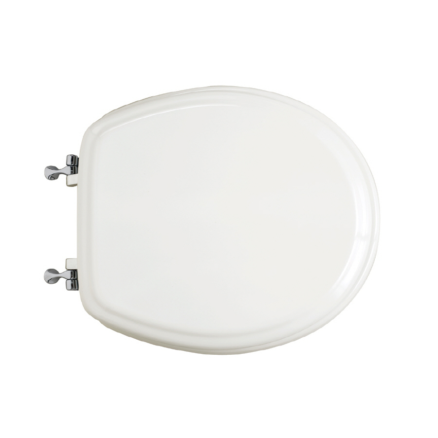 Shop American Standard Wood Round Toilet Seat At Lowes Com