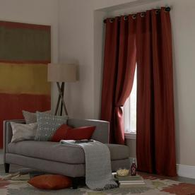 Display Product Reviews For 84 In Spice Polyester Grommet Room Darkening  Single Curtain Panel