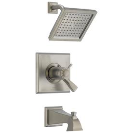 Delta Dryden Thermostatic Stainless 1-Handle Bathtub And ...