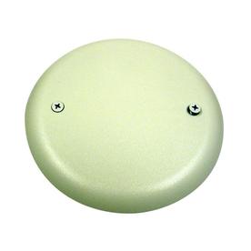 Carlon Round Plastic Electrical Box Cover Cpc4wh