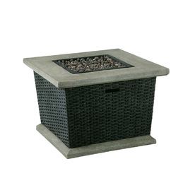 Attractive Display Product Reviews For Somersville 34.5 In W 30,000 BTU Brown Wicker  Design Composite