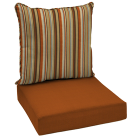 Shop garden treasures texture cushion for deep seat chair - Garden treasures replacement cushions ...