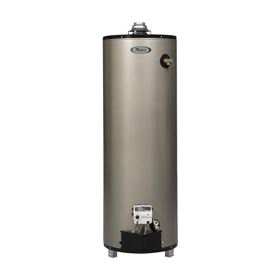 Shop Whirlpool 6th Sense 50 Gallon 12 Year Tall Gas Water