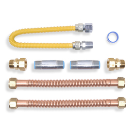 Shop American Water Heater Company Water Hook Up Kit Gas