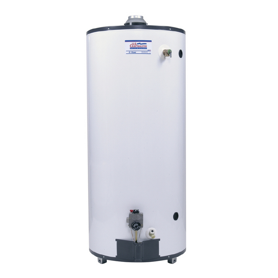 Shop Envirotemp 75 Gallon 6 Year Tall Gas Water Heater