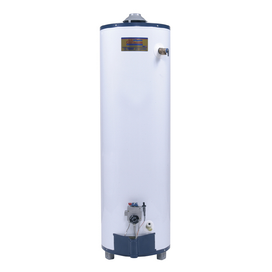Shop U S Craftmaster 50 Gallon 12 Year Tall Gas Water