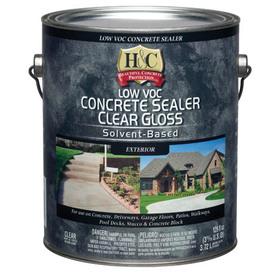 Shop H Amp C Gallon Clear Gloss Solvent Based Concrete Sealer