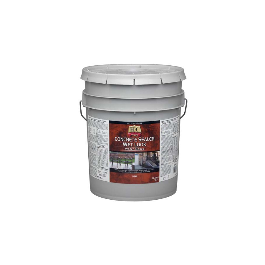 Shop H Amp C 5 Gallon Water Based Concrete Sealer At Lowes Com