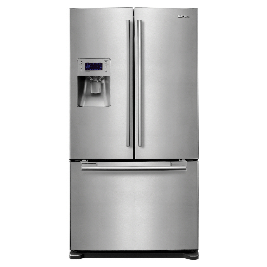 Shop Samsung 25 7 Cu Ft French Door Refrigerator With Dual