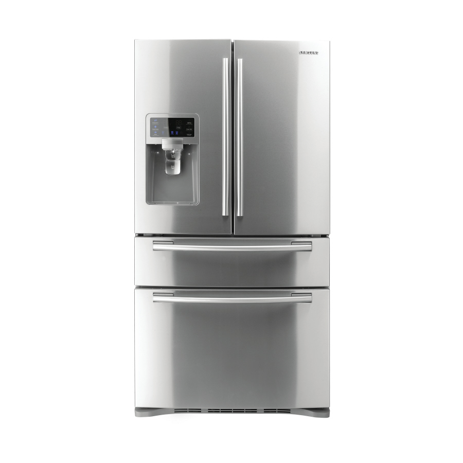 Shop Samsung 28 Cu Ft French Door Refrigerator With Single
