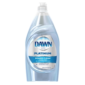 2 Dawn Ultra Platinum 4X More Grease Cleaning Power Refreshing Rain Scent 18 oz