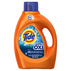 Tide Ultra Oxi Liquid Detergent, 59 Loads 92 Fl Oz