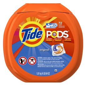 Shop Tide Pods 72 Count Original Laundry Detergent At
