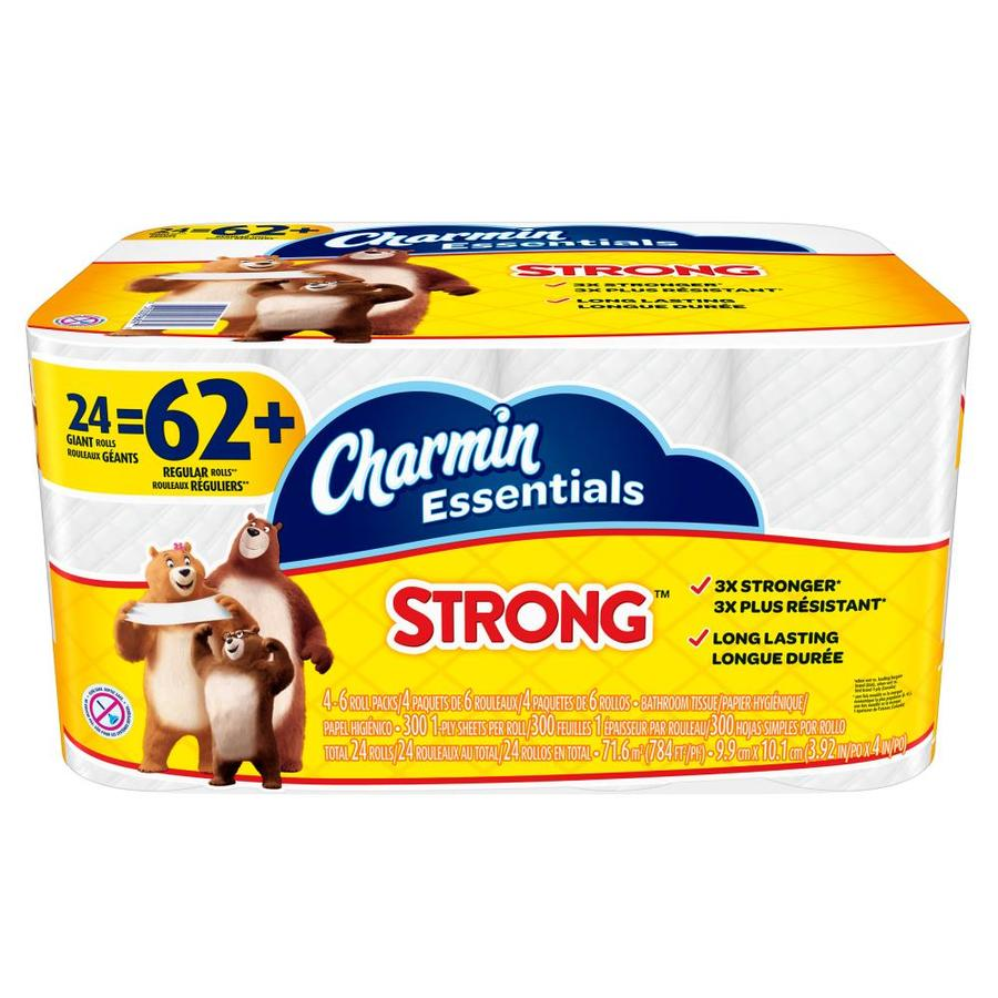 Charmin Essentials Strong 24-Pack Toilet Paper 3700096897