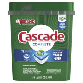 Cascade Complete Actionpacs 78-Pack Fresh Scent Dishwasher Detergent 3700097722