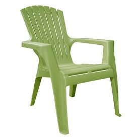 Display Product Reviews For Green Resin Stackable Patio Adirondack Chair