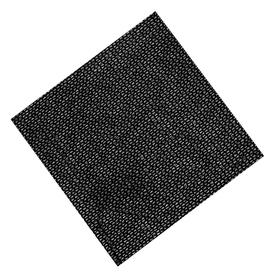 Shop Easy Gardener 6 Ft W Heavy Black Shade Fabric At
