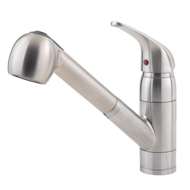 Display Product Reviews For Pfirst Stainless Steel 1 Handle Pull Out Kitchen  Faucet