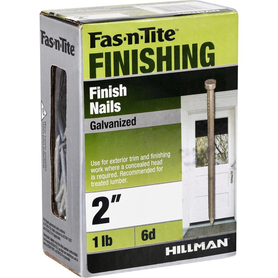 Fas N Tite 2 In Gauge Galvanized Steel Finish Nails 1 Lb In The Brads Finish Nails Department At Lowes Com