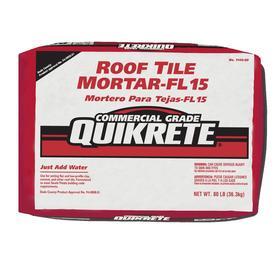 Shop Quikrete Roof Tile Fl 15 80 Lb Gray Type M Mortar Mix