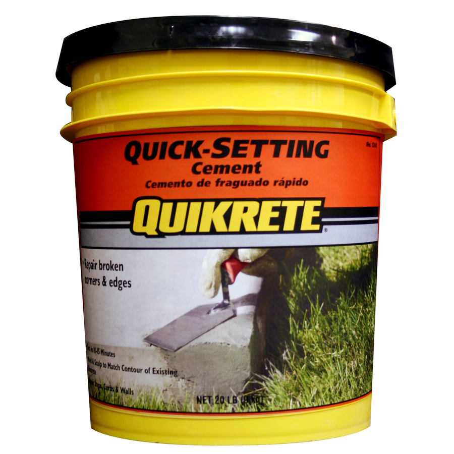 Shop Quikrete 20 Lb Cement Mix At Lowes Com