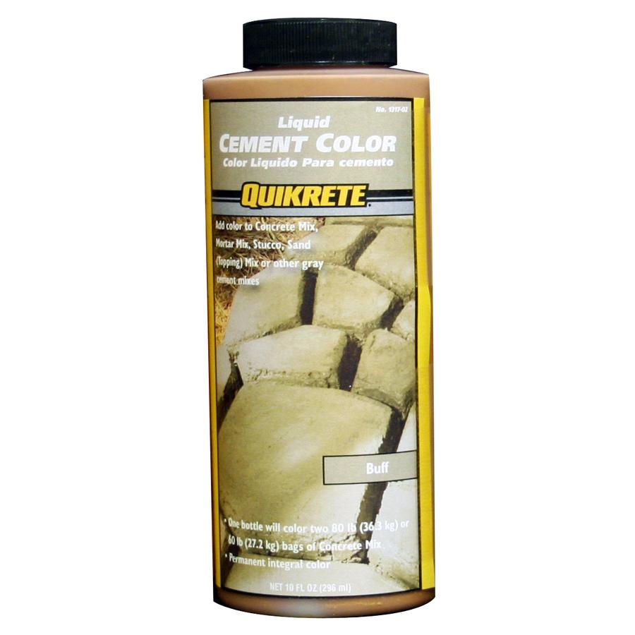 Quikrete 10 Oz Liquid Cement Color Buff 131702 The Home Depot