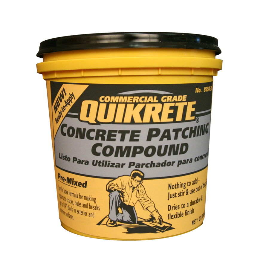 Shop Quikrete 1 Quart Pre Mixed Concrete Patch Crack Seal