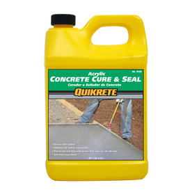 Shop Quikrete Cure And Seal 128 Fl Oz Acrylic Masonry