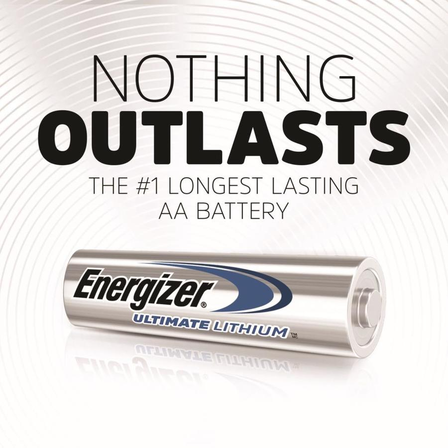 Energizer Ultimate Lithium Aa Batteries 12 Pack In The Aa Batteries Department At Lowes Com