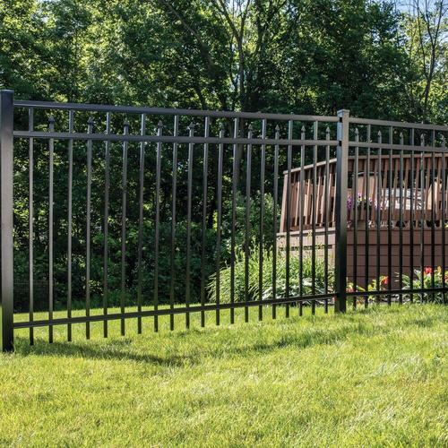 Freedom Vinyl Aluminum Fencing Panels At Lowes