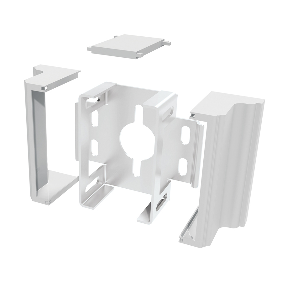 Shop Gatehouse Gatehouse 2 Pack Decorative Rail Bracket