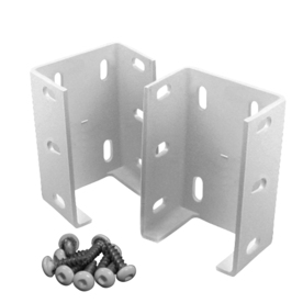 Shop Gatehouse Rail Bracket 2 Pack At Lowes Com
