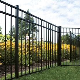 Iron Fence Panels >> Fence Panels At Lowes Com
