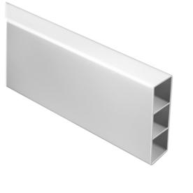 Shop Barrette White Vinyl Fence Rails Common 5 In X 8 Ft