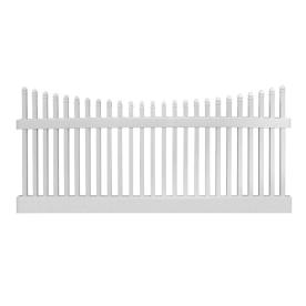 Lowes Freedom Weymouth Amp Brunswick Scallop Fence Kit