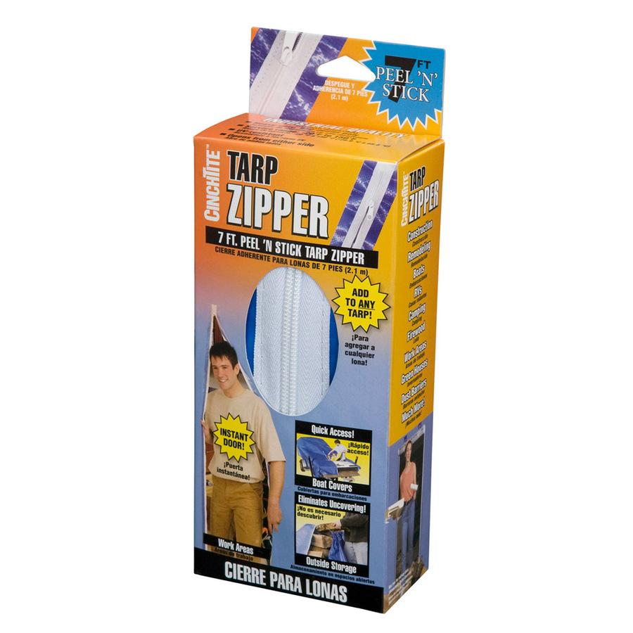 Shop Cinchtite Tarp Zipper Door At Lowes Com