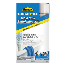 Shop Homax Tough As Tile Tub Amp Sink Refinishing Kit Spray