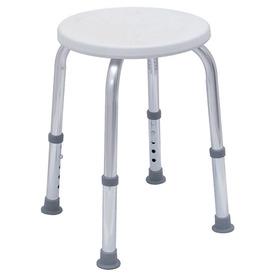 Shop Dmi White Plastic Freestanding Shower Seat At Lowes Com
