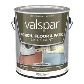 Bon Display Product Reviews For Base 4 Tintable Satin Interior/Exterior Porch  And Floor Paint (