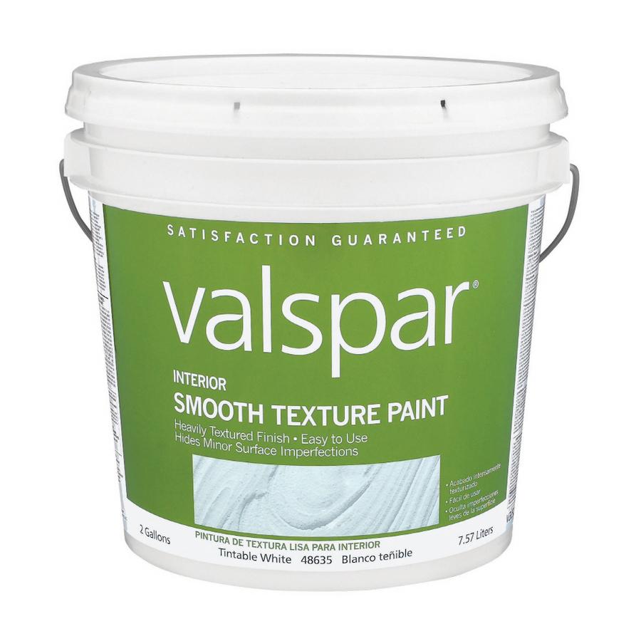 Valspar 2 Gallon Smooth Texture Paint At Lowes